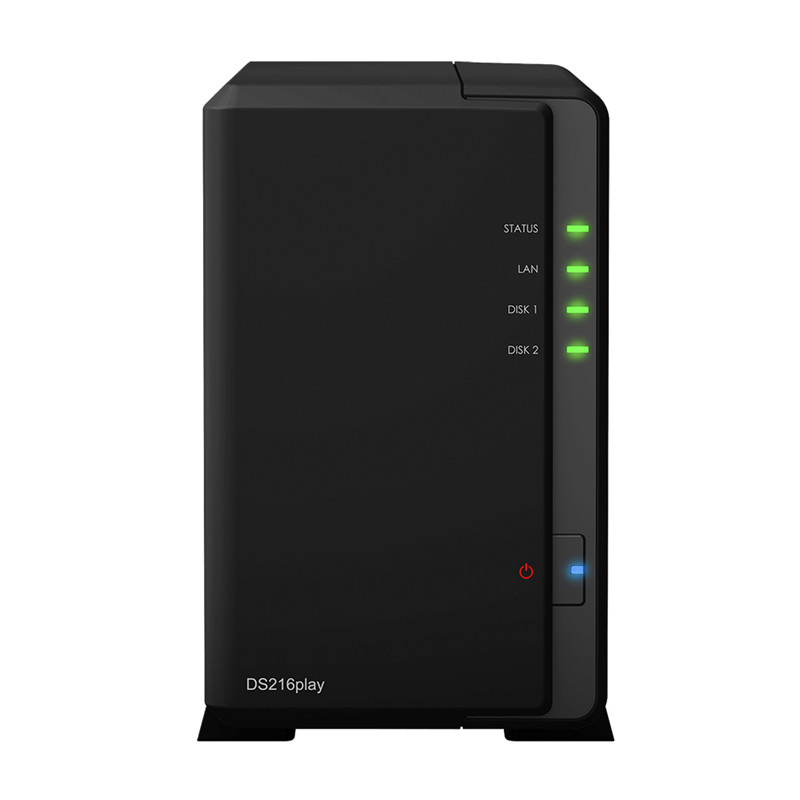 Synology DiskStation DS216play is a budget-friendly 2-bay NAS server for small offices and home use,network storage(China (Mainland))