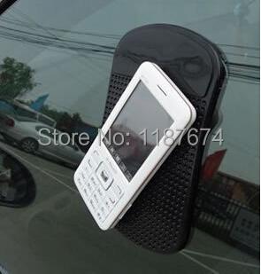 1PCS automobile anti-skid pad Mobile phone car mat car accessories+FREE SHIPPING(China (Mainland))