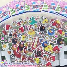 Buy 1000pcs/lot Birds Scrapbooking Foam Cartoon 3D Bubble Sticker Cute Mobile Stickers Best Gift Children Kids Promotion sticker for $106.00 in AliExpress store