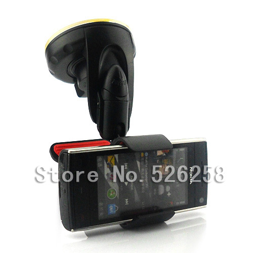 2014 Universal Powerful Car Sticky Suction Pad Holder FOR Nokia X6 free shipping(China (Mainland))