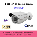 960p Cctv Security Outdoor Surveillance Video Mini Ip Camera Onvif Ir Bullet H 264 HD 3