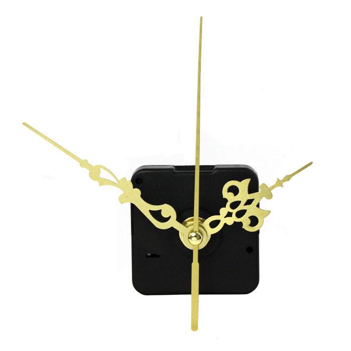 New 2015 Gold & Black Quartz Clock Movement Mechanism DIY Home Wall Clock Repair Parts Accessories High Quanlity Wholesale(China (Mainland))