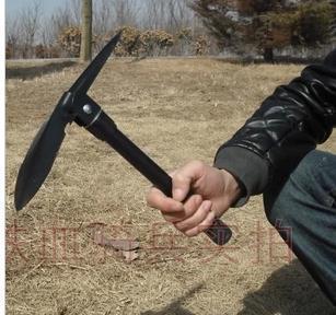 Life-saving multifunctional shovel thickening vehicle emergency folding shovel outdoor yongtieqiao