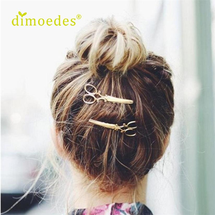 Hot Gold Silver Hair Clip Hair Accessories Headpiece korean cute hair clip Drop Shipping Special Design LS60(China (Mainland))