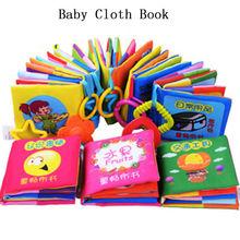 1pc baby tuch Kind intelligenz Entwicklung lernen Bild pädagogische cognize Buch(China (Mainland))
