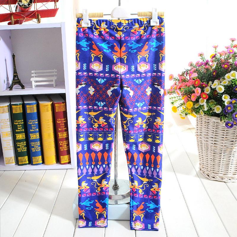 Colorful Print Leggings Leggings Colorful Printing