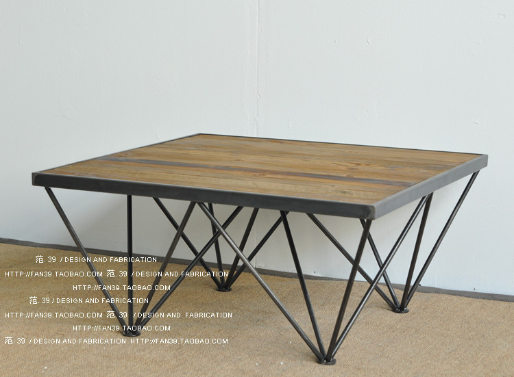 Do the old retro minimalist modern rustic furniture LOFT