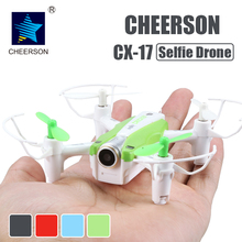 Buy Cheerson CX-17 RC FPV quadrocopter Camera Mini Selfie drone Wide Angle Camera High Hold Mode Pointing Flight RC Dron for $44.55 in AliExpress store