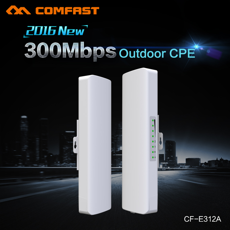 3KM Outdoor CPE 5 G 300 Mbps N Dual Antena wi-fi high power Wireless WIFI Repeater Access Point CPE AP Bridge Client Router(China (Mainland))