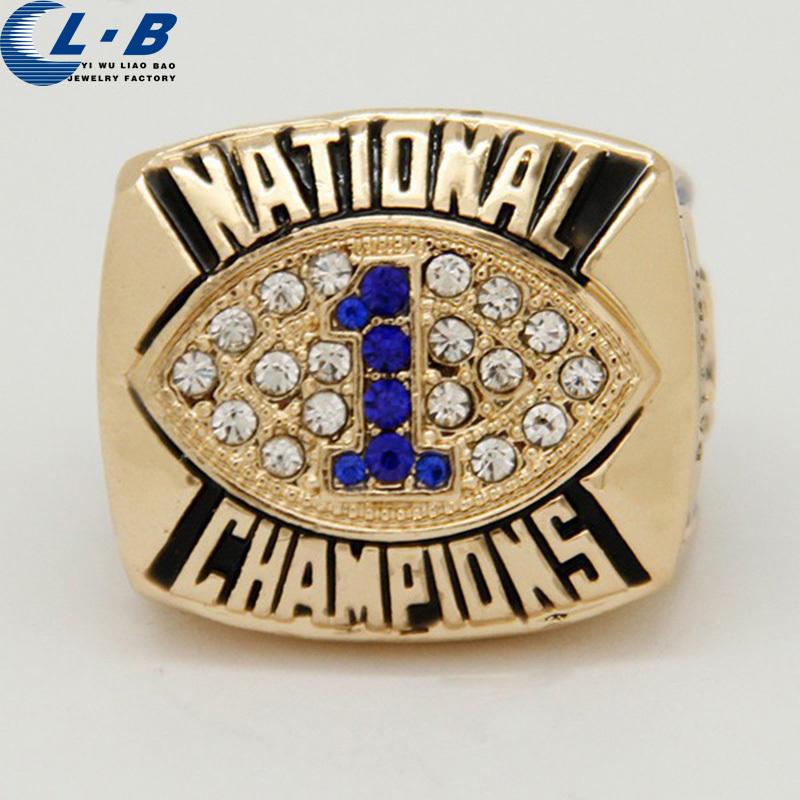 Baru Rings Hadiah Untuk Pria Sport Cincin Penn State Fiesta Bowl 1986 Kejuaraan Nasional Ring Size 11,18k gold men ring,NCAA(China (Mainland))