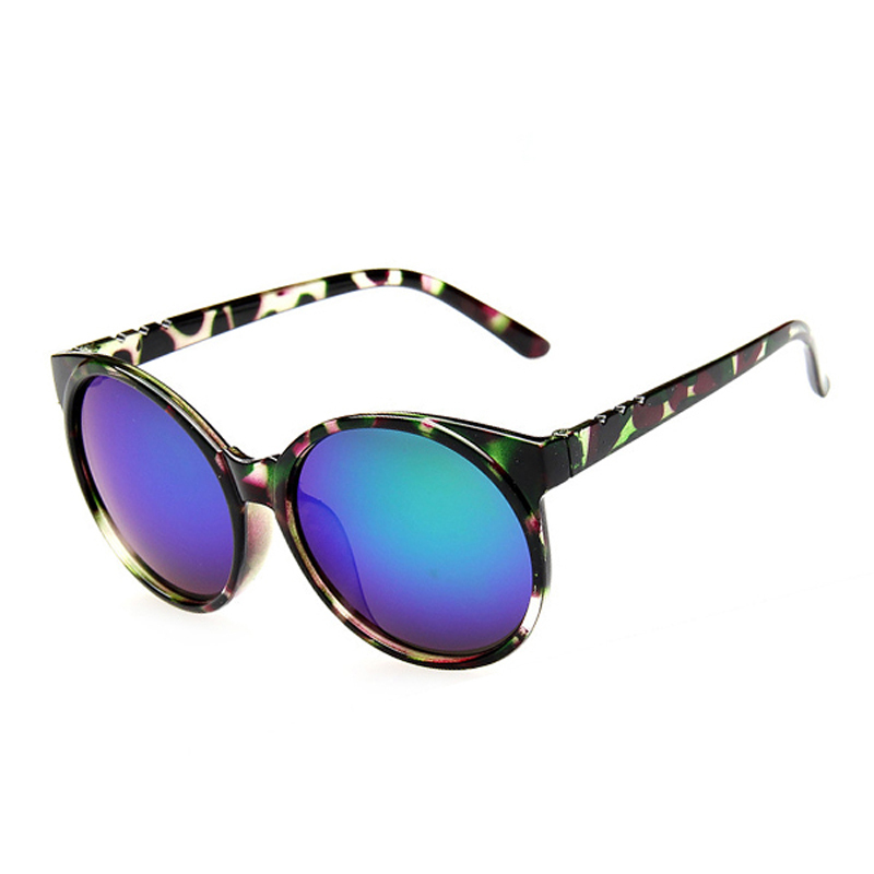 2015 New Fashion Summer Sunglasses Women Vintage Round Shaped Sun Glasses Mirror Eyeglasses Retro Shades Oculos De Sol