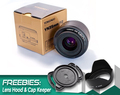 Ready Stock Original YONGNUO 35mm f2 Lens YN35mm Large Aperture Auto Focus Lens for Canon EOS