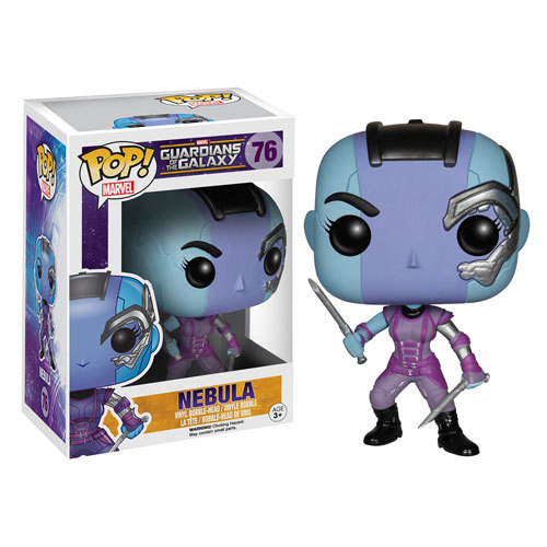 Free Shipping Funko POP Marvel : Guardians Of The Galaxy -POP Nebula / Ronan / The Collector /Action figures toys Christmas gift(China (Mainland))