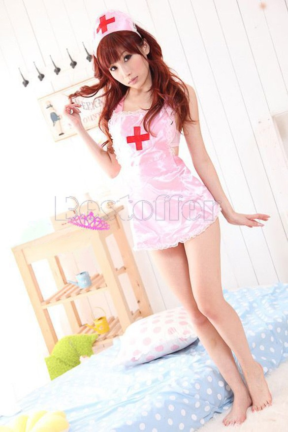Lowest Price Sexy Lingerie Hot Sexy Costumes Sex Nurse Erotic Lingerie Sleepwear Clothing Set Sexy Underwear 12(China (Mainland))