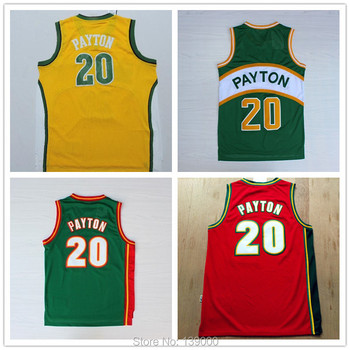 0a4c8cac7 Outdoors Clothing Dealer   20 Gary Payton Jersey Throwback Jersey ...