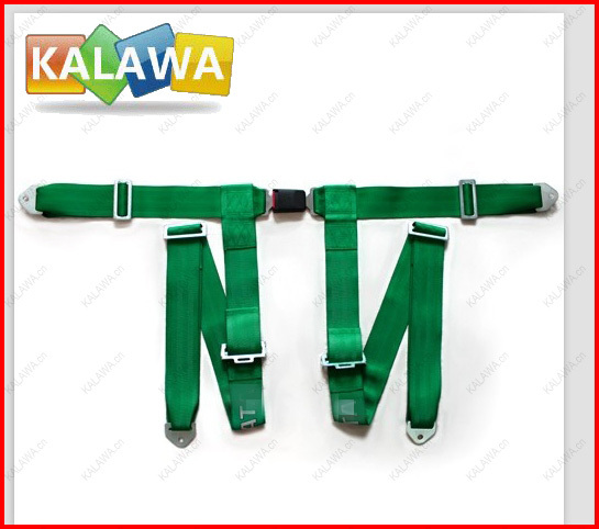 One set safety belt / 4 Point Good Material Safety Seat Belt / Racing Seat belt / Racing Harness model 4A-1 QQQ(China (Mainland))