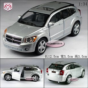 New Dodge Caliber 1:34 Alloy Diecast Model Car Toy Collection Silver B365(China (Mainland))