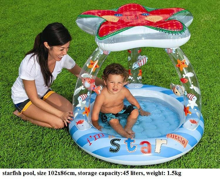 Baby inflatable swimming pool child paddling pool child infant bathtub