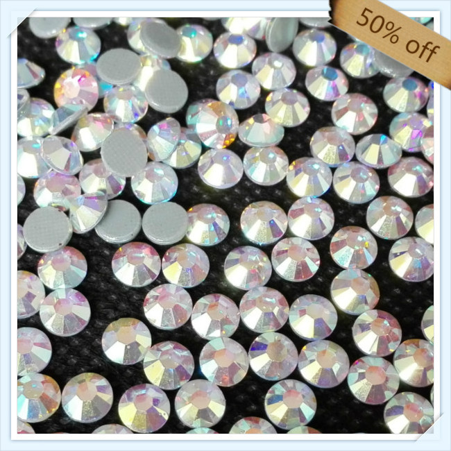 China post air mail FREE SHIPPING size ss16 4mm CRYSTAL AB color with 1440 pcs each pack ; diamond stone for woman bag(China (Mainland))