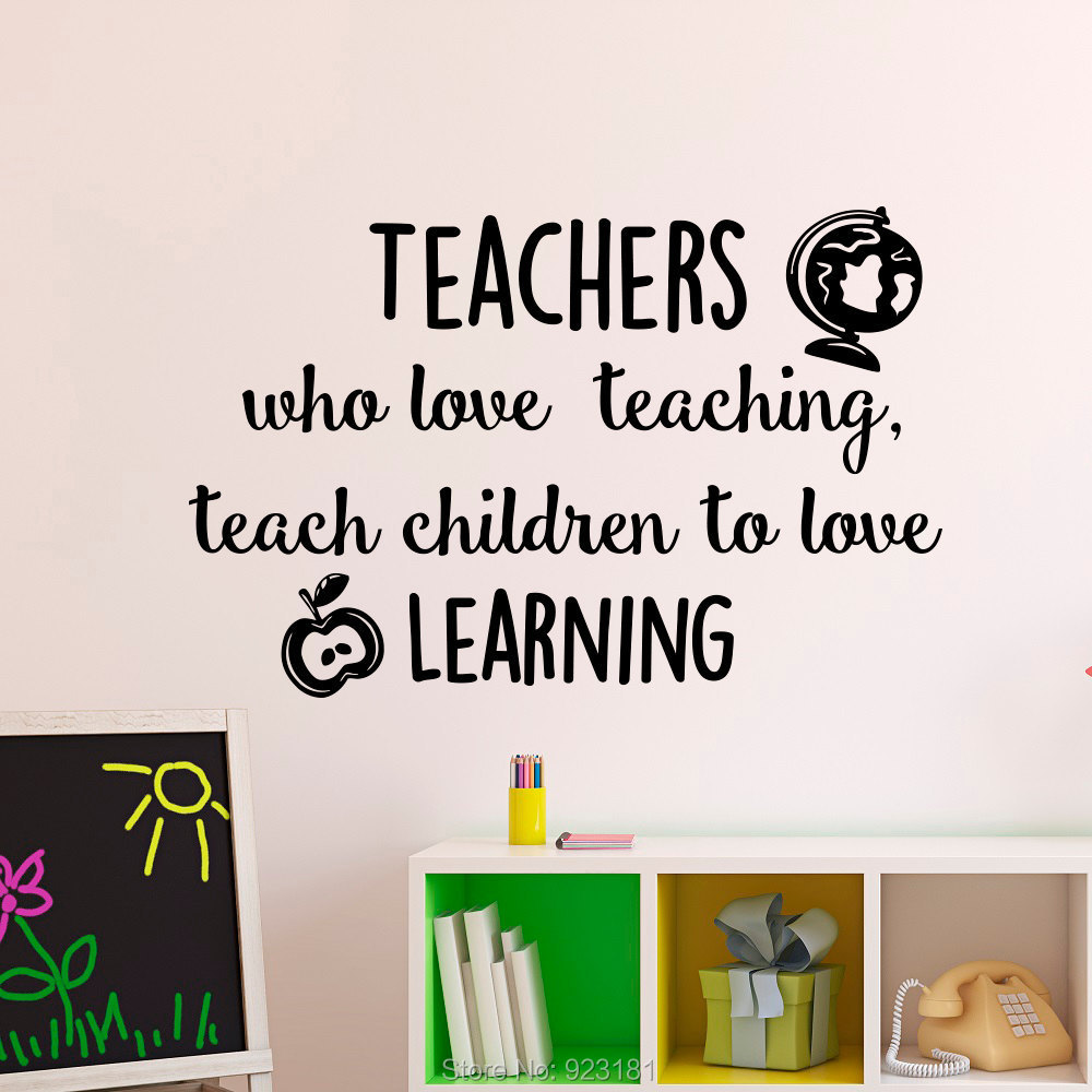 Educational wall art decals ~ Color the walls of your house
