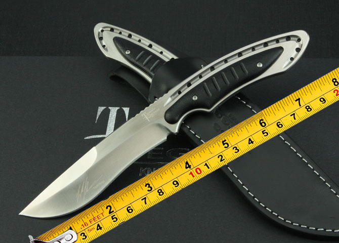 High end Todd berg Fixed Blade Knife 9 cr13mov steel G10 handle outdoor camping hunting straight