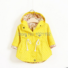 2015 new foreign trade children's clothing cotton children's coat wave printed batwing coat manufacturer wholesale of the girls