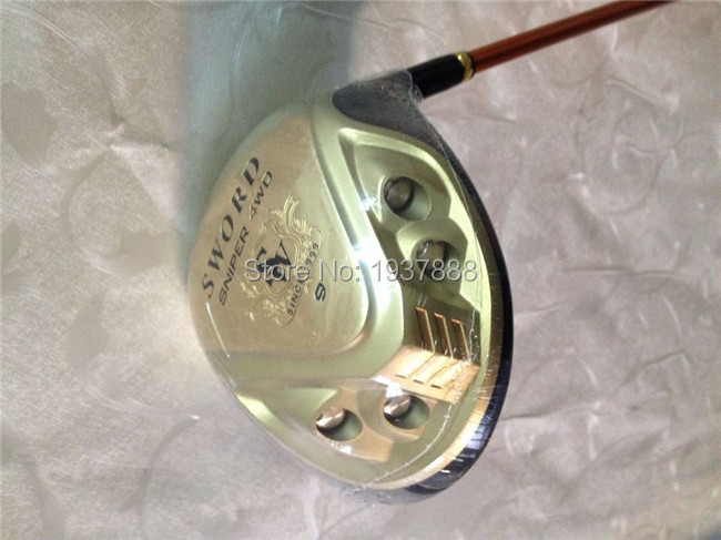 "Katana Sword Sniper 4WD Driver Katana Golf Clubs Right Hand Golf Driver 9.5""/10.5"" R/S/SR-Flex Graphite Shaft With Head Cover(China (Mainland))"