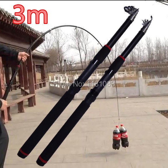 3 m superhard fishing rod / surf fishing rods / carp fly ice / telescopic casting rod(China (Mainland))