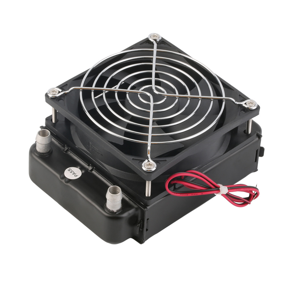 New 90mm Water Cooling CPU Cooler Row Heat Exchanger Radiator With Fan for PC Wholesale(China (Mainland))