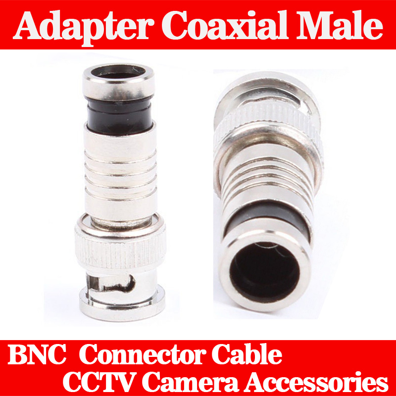 5 Pcs BNC Connector Compression Connector for Coaxial RG59 Cable CCTV Camera Accessories(China (Mainland))