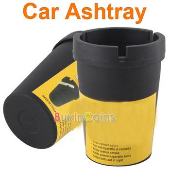 Auto Car Travel Butt Bucket Self Extinguishing Cigarette Ashtray Holder #6   #12983