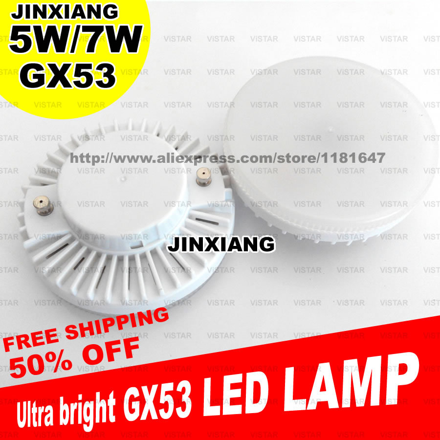 gx53 led lamp bulb 5w 7w 9w gx53 downlight ultra bright lights 110v 220v 230v 240v warm white. Black Bedroom Furniture Sets. Home Design Ideas