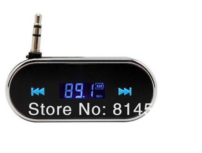 Car MP3 Player Folding3.5mm In-car Wireless Fm Transmitter For iPhone Samsung Hands-free telephone Car Audio player(China (Mainland))