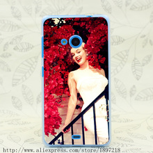 3956T Red Smile Women Hard Transparent Cover Case for Nokia 535 630 640 640XL 730