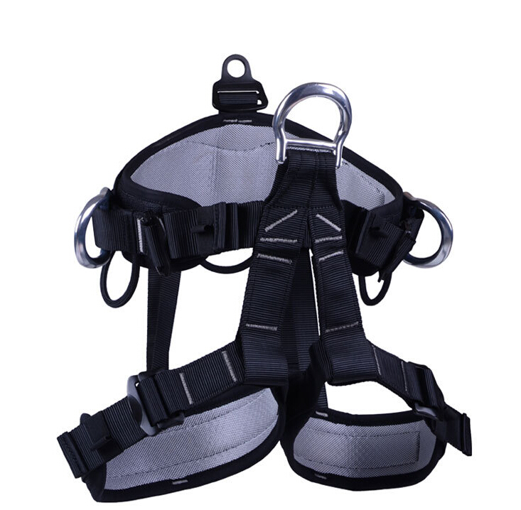 Outdoor Safety Belt High Strength Polyester Harness Half-body Safety Belts for Mountaineering Rock Climbing Caving Rescue