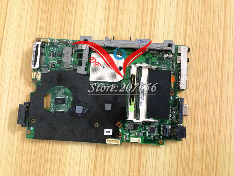 Free shipping for ASUS K50AF laptop motherboard AMD cpu , systerm board K40AB , mainboard Fully tested good work<br>