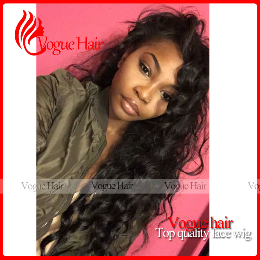 Best Selling Malaysia Synthetic Hair loose Curly Wig Synthetic Lace Front Wigs Heat Resistant With bangs For black women<br><br>Aliexpress