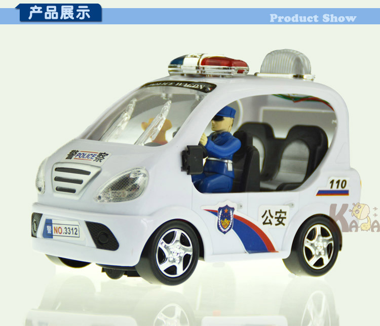 3181 city police police electric motor car police car public security educational electric toy car(China (Mainland))
