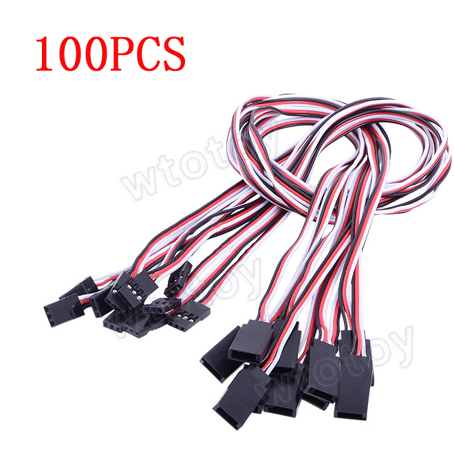 100pcs 50CM 500mm Servo Extension (Servo Lead) <br><br>Aliexpress