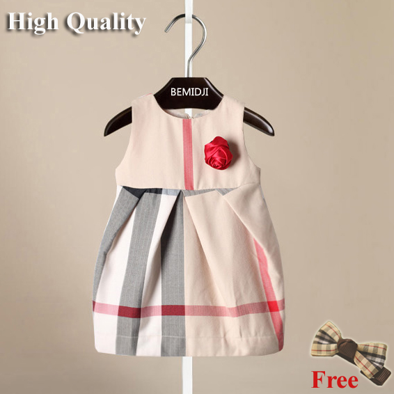 80- 110 cm new 2014 princess baby girl dresses 100% cotton England style kids dress spring autumn child cute dress free shipping<br><br>Aliexpress