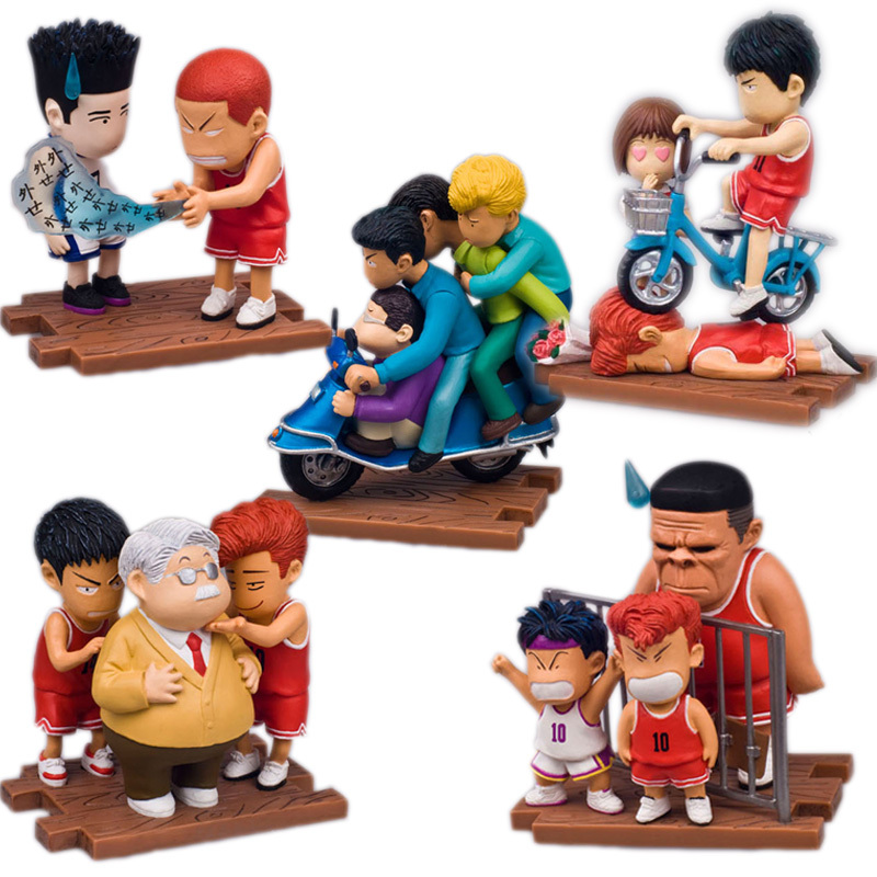 font b Animation b font Products SLAM DUNK Peripherals Vinyl Doll Pvc Figure Hanamichi Sakuragi