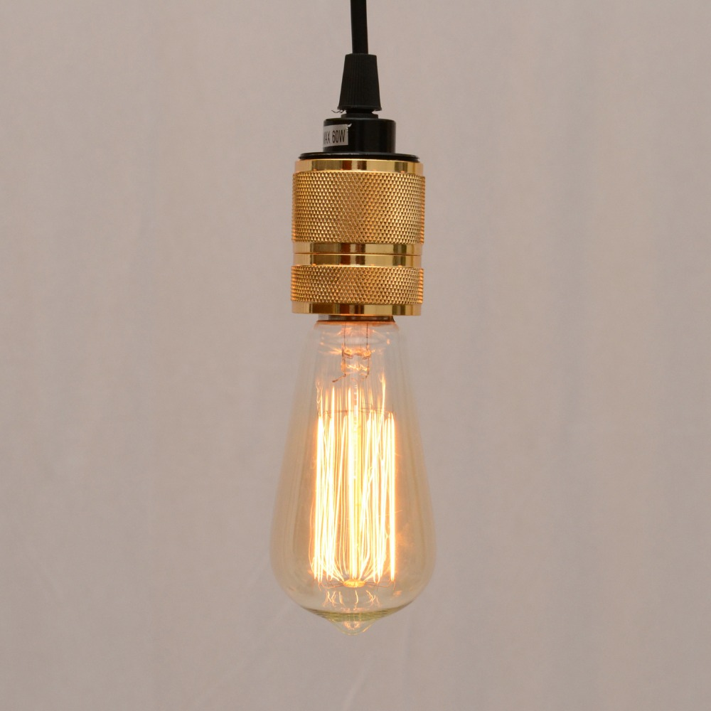 Industrial Hooked Edison Bulb Loft Vintage Pendant Lights Lamp With 1 Light  Free Shipping<br><br>Aliexpress