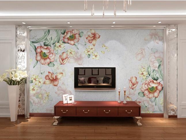 Aliexpress.com: comprar encargo papel de parede floral nostálgico ...