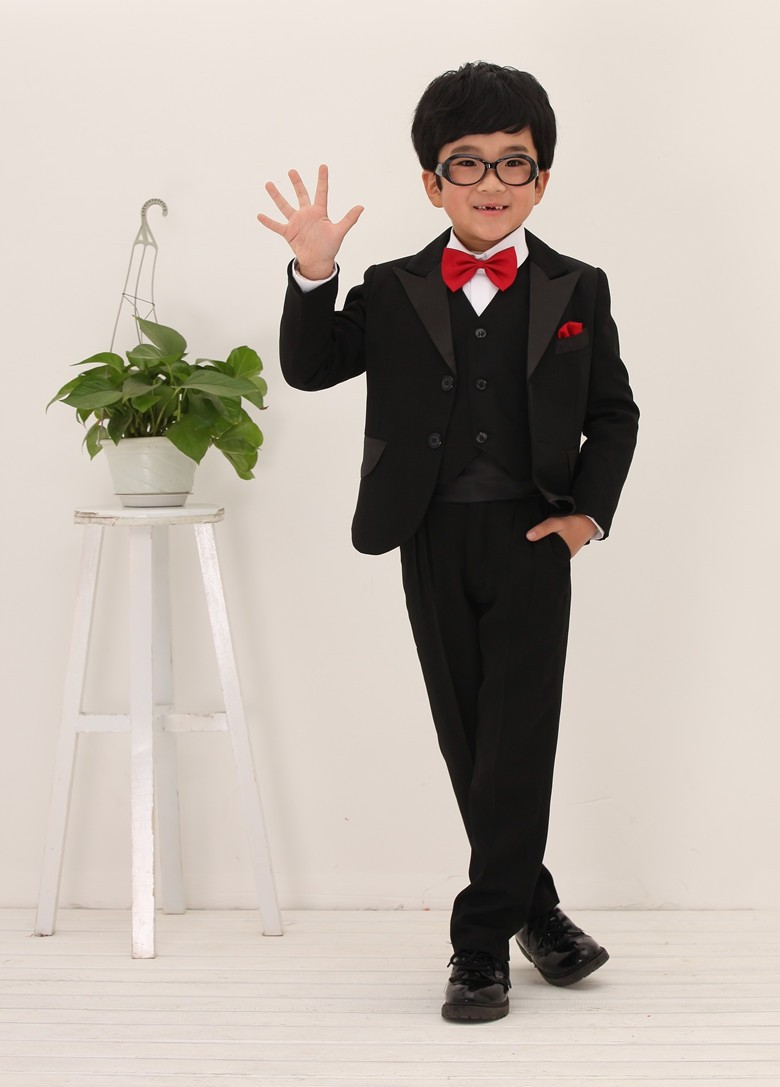 Red Bow Tie With Black Suit - All About Ties Collections 2017