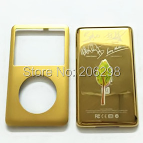 Custom Gold-Colored Front/Back for iPod 7th Gen Classic 160GB<br><br>Aliexpress