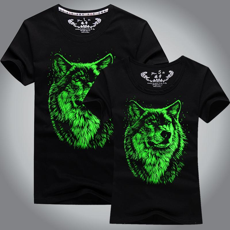 Fashion durable hemp tshirts plain tshirt luminous printing