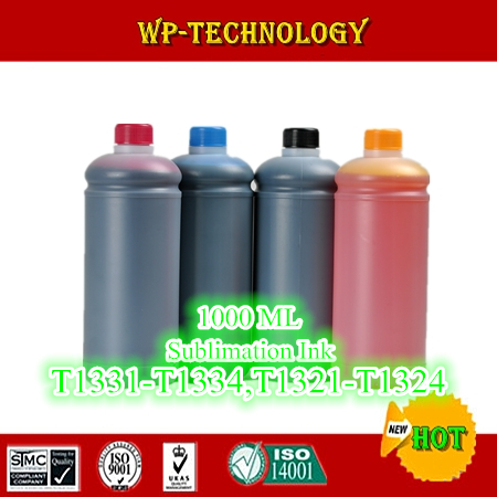 1L*4 pcs Sublimation ink suit for Epson Stylus T22 TX120 TX320F TX420W T25 TX123 TX125 etc , suit for T1331 -T1334 , 4L Total