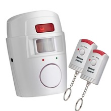 Buy chuangkesafe Home Security PIR MP Alert Infrared Sensor Anti-theft Motion Detector Alarm Wireless Alarm system+2 remote control for $5.80 in AliExpress store