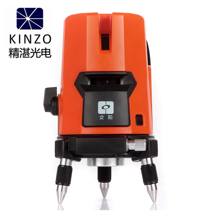 Free shipping Kinzo 5 lines 4V1H 6 points laser line cross line laser rotary laser level