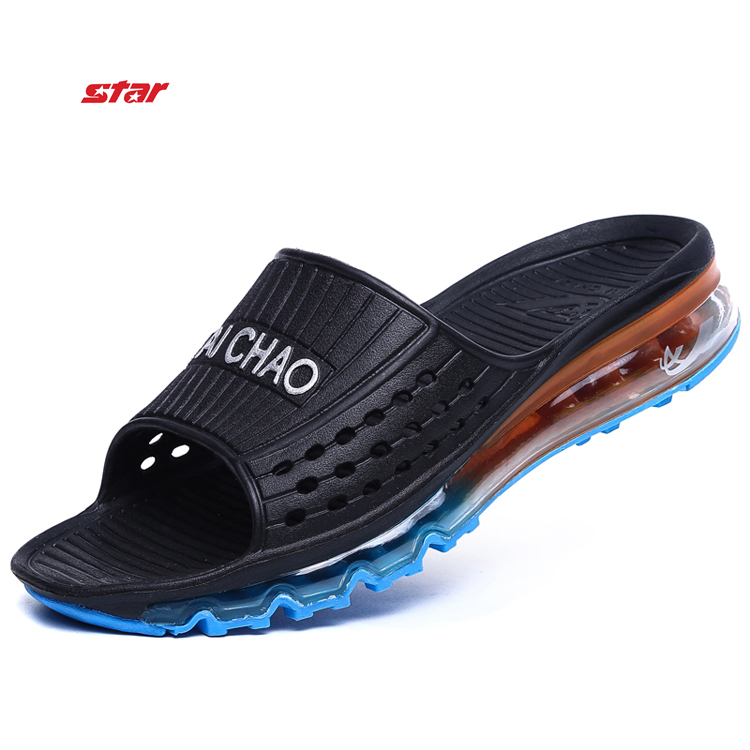 Fashion Summer slippers Casual Men Sandals, Leisure Soft Slides air sport hook slippers Beach sandals Men summer shoes(China (Mainland))